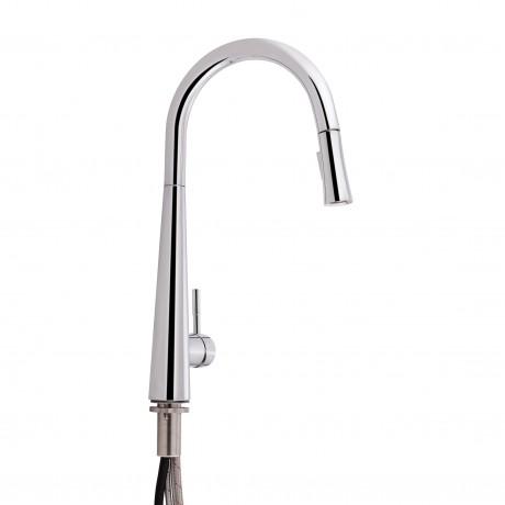Смеситель для кухни с выдвижным изливом Qtap Evicka 9135103UC