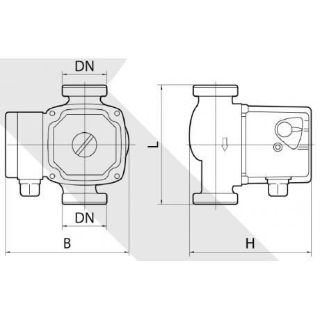 Циркуляционный насос Rudes RH 25-8-180 7222