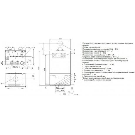 Газовый котел Vaillant ecoTEC plus VU INT 346/5-5