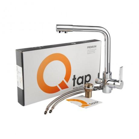 Смеситель для кухни с фильтром Qtap Form CRM 007F-2