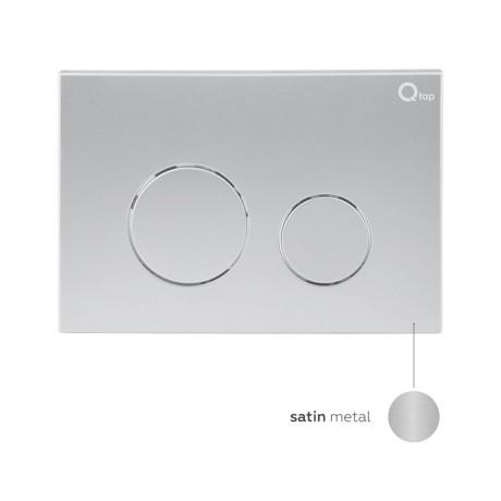 Набор инсталляция 4 в 1 Qtap Nest ST с круглой панелью смыва QT0133M425M11111SAT
