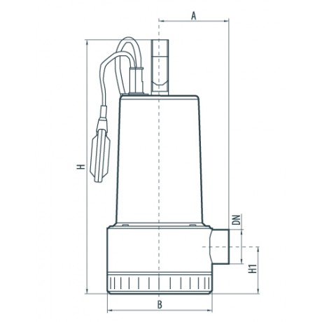 Дренажный насос Насосы+Оборудование DSP 750SD 132027