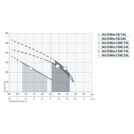 Насосная станция Насосы+Оборудование AUJSWm 10M/24L 312060