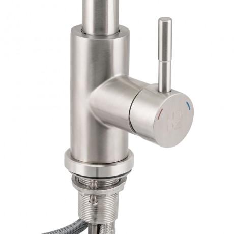 Смеситель для кухни с выдвижным изливом Lidz (NKS) 12 32 015FL-8