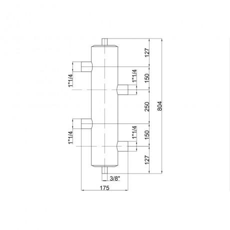 """Гидрострелка Icma 1"""" 1/4 №C303"""