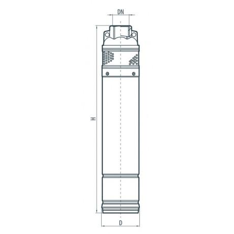 Скважинный насос Sprut 4SKm 250 142107