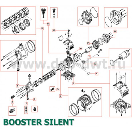 Насос DAB BOOSTER SILENT 5 M (official, 60122699)