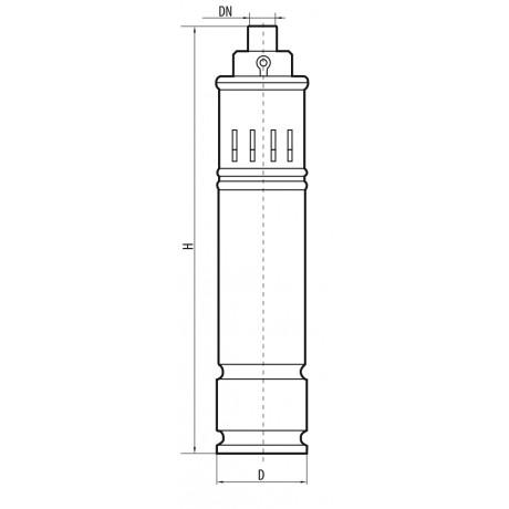Скважинный насос Sprut 3S QGD 1-65-0,75 6982