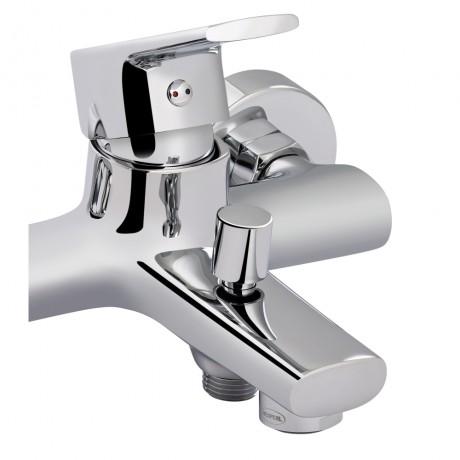 Смеситель для ванны Qtap Labe 3020107DC