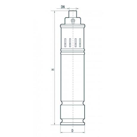 Скважинный насос Sprut 4SQGD 2,5-140-1.1 142194
