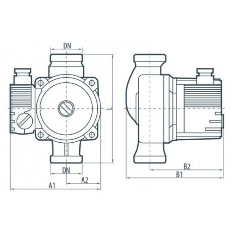 Циркуляционный насос Sprut LRS 15-4S-130 122142