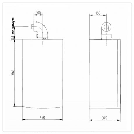 Газовый котел BAXI LUNA DUO-TEC MP 1.35