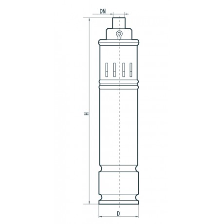 Скважинный насос Sprut 4S QGD 1,2-50-0.37 142187