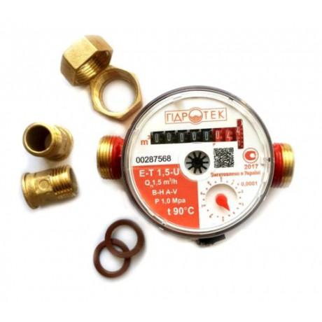 Счетчик горячей воды HidroTech ET-1,5U