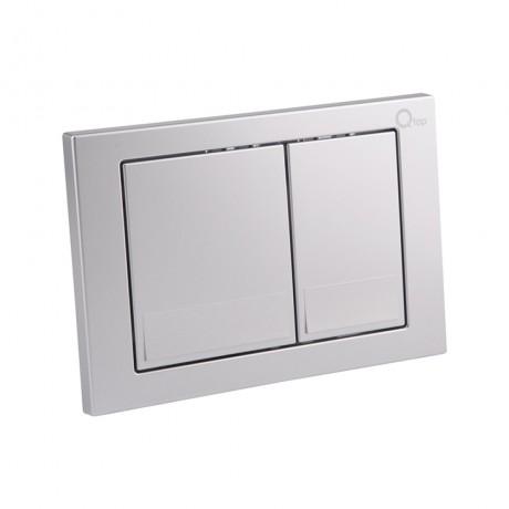 Набор инсталляция 4 в 1 Qtap Nest ST с квадратной панелью смыва QT0133M425M06029SAT