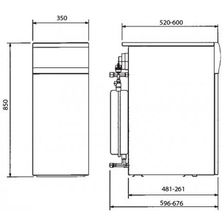 Газовый котел BAXI SLIM 1.230 Fi N