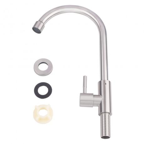 Кран на одну воду для кухни Lidz (NKS) 12 32 015SF-8