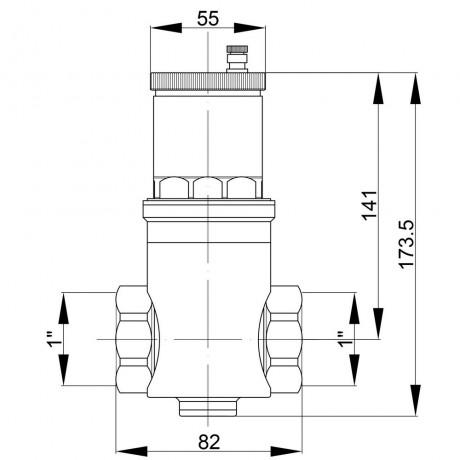 """Дегазатор Icma 1"""" №740"""