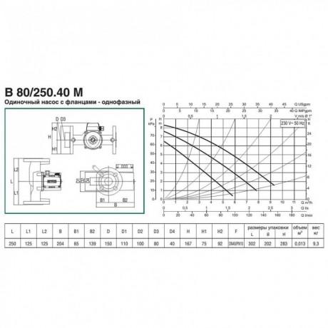 Насос циркуляционный бытовой DAB B 80/250.40 M (official, 505816041)